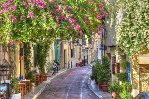 A Plaka Street