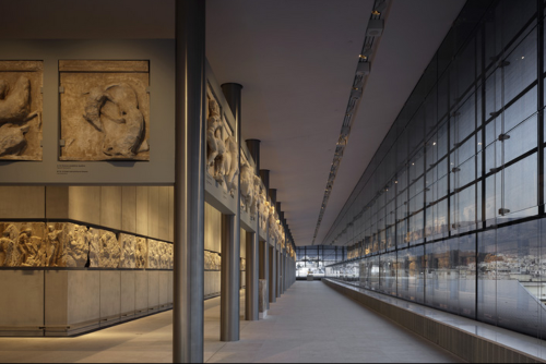 The Parthenon Hall. Courtesy of Bernard Tschumi Architects.
