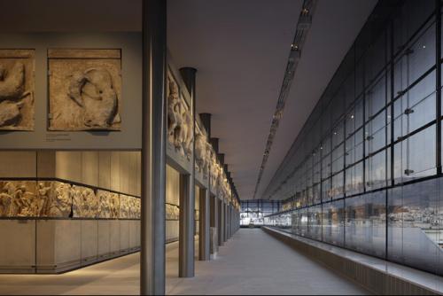 The Parthenon Hall. Courtesy of Bernard Tschumi Architects.